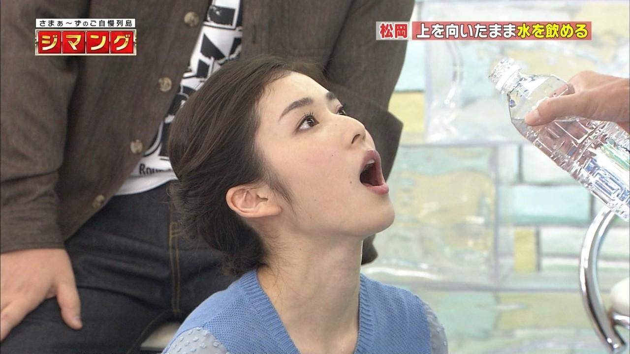 松岡茉優フェラ体勢なんかすごくエロ!